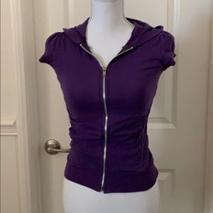 Purple Top size small